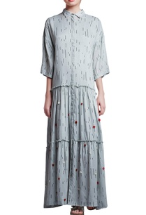 light-blue-cotton-oversized-floral-hand-embroidered-dress