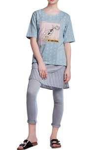 blue-grey-jersey-regular-paneled-pants