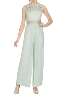 light-blue-royal-georgette-geometric-cut-work-jumpsuit