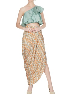 mint-green-linen-silk-printed-ruffle-crop-top