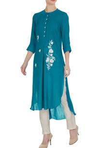 high-low-rose-hand-embroidered-kurta