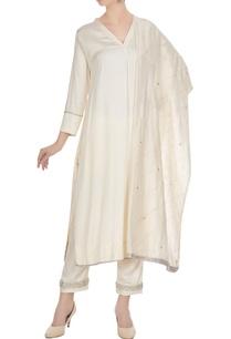 vanilla-cotton-satin-chanderi-mukaish-work-a-line-kurta-with-pants-dupatta