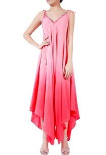 pink-ombre-handmade-crepe-silk-bugle-bead-jumpsuit