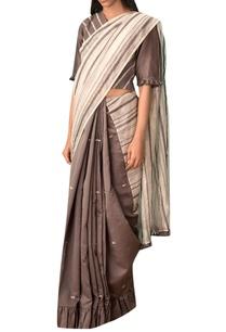 ivory-grey-handwoven-chanderi-sari