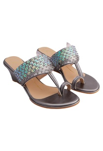 silver-genuine-leather-sole-hand-embroidered-wedges