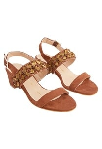 tan-suede-genuine-leather-sole-hand-embroidered-block-heels