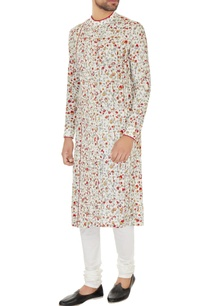off-white-cotton-silk-embroidered-kurta-with-cotton-lycra-churidar