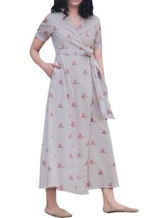 beige-cotton-wrap-style-maxi-dress