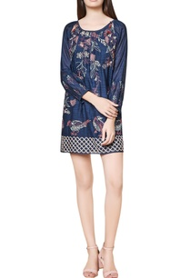 blue-cotton-silk-hand-embroidered-shift-dress