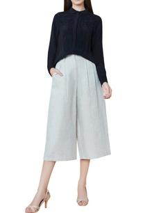 black-silk-hand-embroidered-shirt