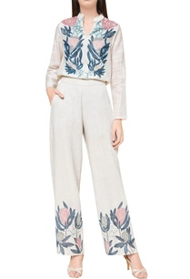off-white-linen-hand-embroidered-trousers