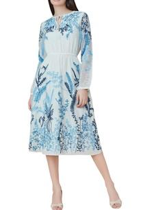 off-white-cotton-silk-hand-embroidered-midi-dress