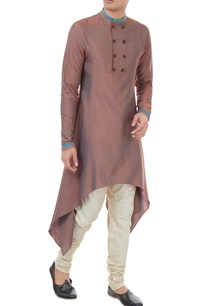 alum-blue-spun-cotton-handkerchief-hem-kurta