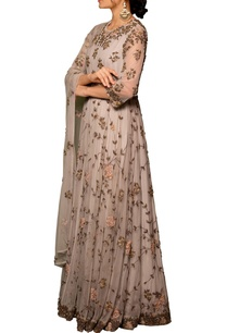 pastel-mauve-tulle-net-machine-hand-embroidered-gown