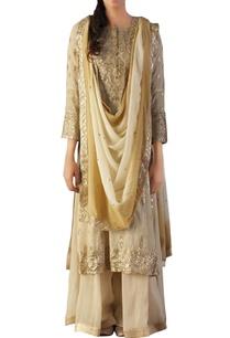off-white-brocade-silk-embroidered-kurta-set