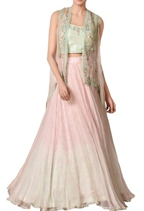 pastel-pink-thread-embroidered-lehenga-set
