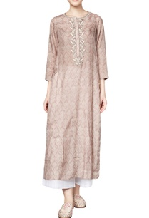 oak-brown-silk-printed-varisha-straight-kurta