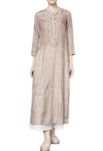 oak-brown-silk-printed-varisha-straight-kurta