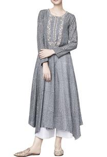 grey-silk-printed-azalea-straight-tunic