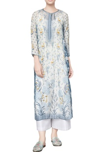 blue-silk-printed-raaina-straight-kurta