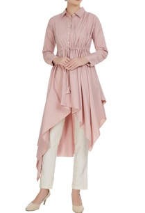 blush-pink-poplin-asymmetric-tunic