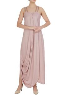 blush-pink-satin-modal-draped-embellished-maxi-dress