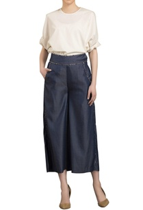 navy-blue-cropped-denim-palazzo-pants