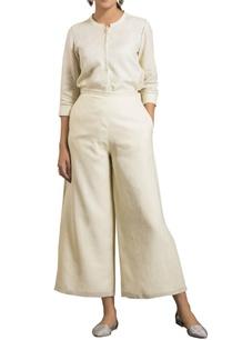 ivory-flowy-linen-palazzo-pants
