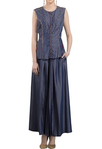 navy-blue-denim-pleated-style-palazzos