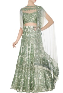 ivory-green-net-sequin-embroidered-lehenga-set
