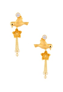 dove-motif-dangling-earrings