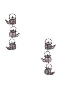 antique-teapot-motif-long-earrings