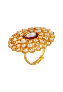multiple-studded-floral-statement-ring