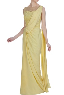 crepe-hand-embroidered-cutdana-sequin-draped-saree