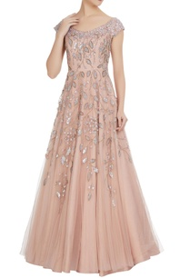 sequin-embroidered-flared-bridal-gown