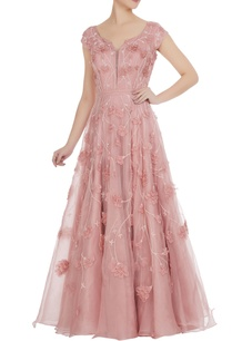 pink-organza-bridal-gown