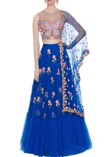 blue-tulle-embroidered-blouse-with-lehenga-dupatta