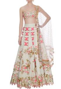 white-matka-silk-embroidered-blouse-with-lehenga-dupatta