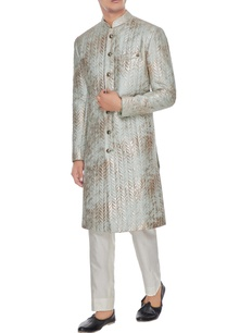 pale-blue-quilted-metallic-foiled-sherwani-with-trousers