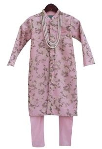baby-pink-organza-cotton-silk-printed-ajkan-with-churidar