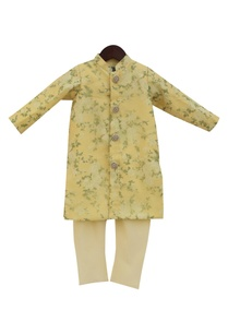 yellow-achkan-jacket-with-churidar