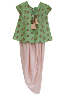 pista-green-embroidered-jacket-with-satin-silk-dhoti-skirt