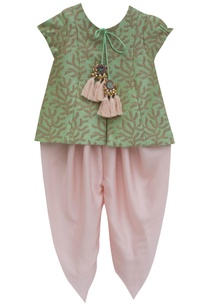 pista-green-embroidered-jacket-with-satin-silk-dhoti-pants