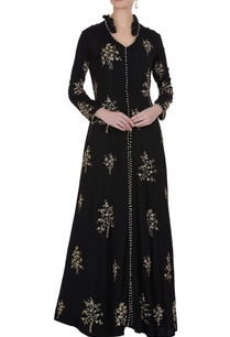 pearl-badla-work-long-jacket-with-skirt