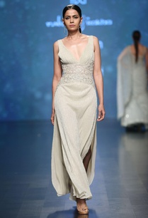 pale-gold-sleeveless-bead-lurex-metallic-gown