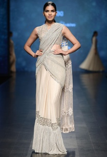 pale-gold-crinkled-sequin-concept-saree-with-tassel-drape-beaded-blouse