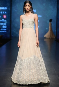 gold-silver-sequin-embroidered-gown