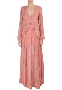 chiffon-dot-print-maxi-dress