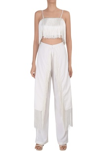 tassel-high-waist-tailored-trousers