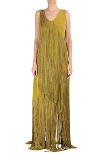 tassel-silk-crepe-gown